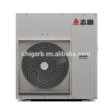 Pompe à chaleur solaire d'eau chaude d'inverseur de courant continu de haute qualité économiseuse d'énergie pour le chauffage résidentiel