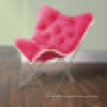 2015 fashionable lazy foldable butterfly chair