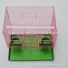 Cage de perroquet de Cage d'oiseau pliable de fil forgé