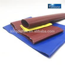 Material PVC / Tpu 25m 50m 100m Flexible agua Layflat Hose