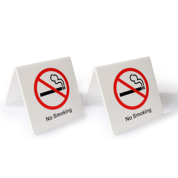 Acryl No Smoking Schilderhalter