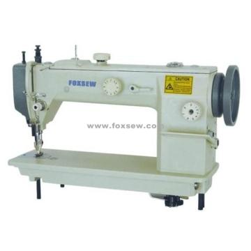 Single Needle Top and Bottom Feed Heavy Duty Lockstitch Sewing Machine
