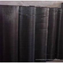 Paño del acoplamiento de alambre negro / disco del filtro de la pantalla del hierro