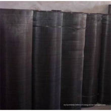 Fil noir en fil métallique / Fil de filtre à écran de fer