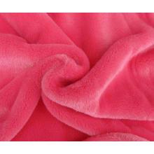 Franela de algodón cepillado tela de brida grande