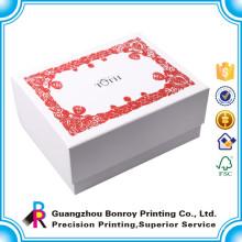 Изготовленный На Заказ Красный Цвет Ручной Работы Бумага Английская Свадьба Почтовый Ящик Открытый