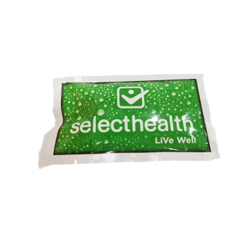 Toallitas húmedas biodegradables para el cuidado de la piel envueltas individualmente