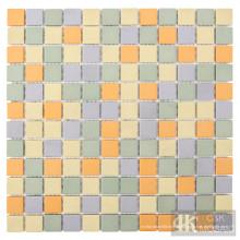 Folhas de azulejos de parede de mosaico de cerâmica mais vendidos