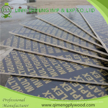 One Time Hot Press Waterproof Film Faced Plywood for Construction
