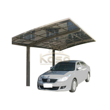 Parking voiture hangar protection uv villa carport