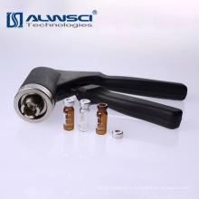 Outil Crimper à la main du flacon de 11 mm pour les flacons supérieurs