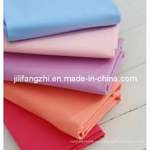 Tc / poliéster / tela de algodón para camisa / bolsillo