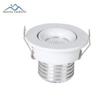 A qualidade superior recessed 3w 5w que ilumina para baixo o branco conduzido da cozinha pode dispositivos elétricos claros