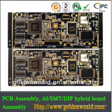 FR4 HASL superficie rígida pcb usb hub pcb