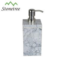 Bathroom Accessories Soap Dispenser White Marble Lotion Bottle Pump