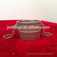 Acoplador de aço inoxidável 304 / 316l D fêmea