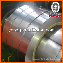 Bande épaisse de bonne qualité 304L 0,08 mm pour la fabrication de tuyau