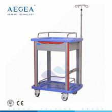 AG-LPT006B fabricante ABS material resucitación médica accidente hospital carretilla carro