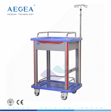 AG-LPT006B medical supplier hospital ABS durable laboratory cart for sale