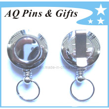 Metal Badge Reel sin logotipo