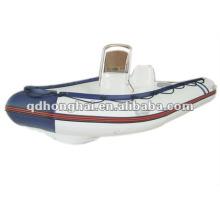casco de fibra de vidro barco HH-RIB350 com CE