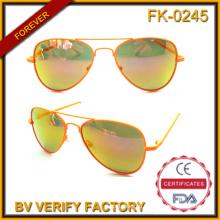 Fk-0245 Retro Anti-Glare Cool Kids Metal Pilot Style Sun Eyeglasses Wholesale in China