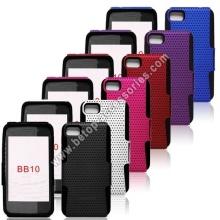 BlackBerry BB10 enrejadas funda de silicona