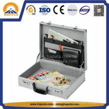 Document poli d'affaires en aluminium argenté (HL-2501)
