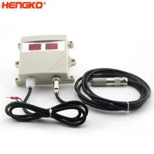 Temperature and Humidity Sensor with Probe Enclosure Environment Monitoring Dew Point Instrument IP67 Digital Waterproof ISO9001