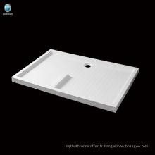 K-571 Hot vendre salle de bain rectangle acrylique bac à douche