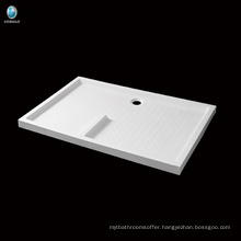 K-571 Hot sell bathroom rectangle acrylic shower tray