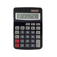 Dual Power 8 Digit Business Desktop Calculator