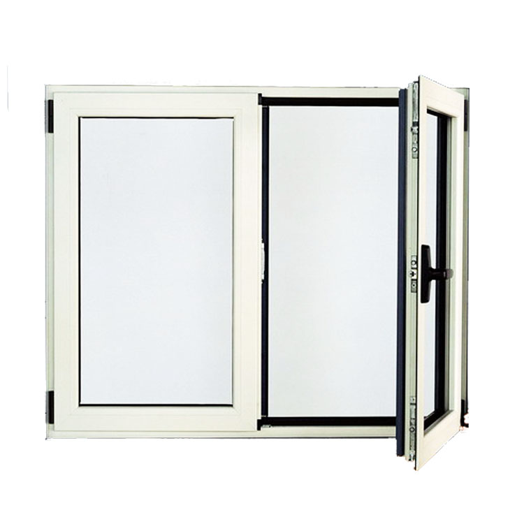 European residential high quality german hope fittings swing opening standard size arch design window and door