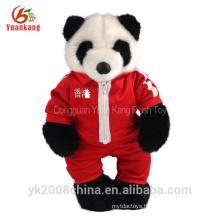 ICTI 30cm stufffed animal teddy bear plush toy with cloth