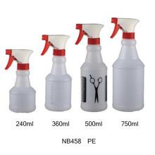Bouteille de pulvérisateur en plastique PVC pour le nettoyage (NB455)