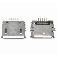 Micro USB 5P Receptacle SMT