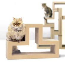 Katze Sofa Rest Bett Bord Papier Spielzeug Lounge Wellpappe Katze Scratcher CT-4050