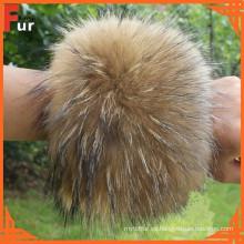Para el manguito de piel de mapache de Coat / Garment