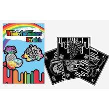 arte y artesanía niños bricolaje tarjeta de rascar