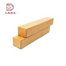 Top quality recycled materials custom printing tube corrugated carton boxes