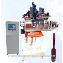 2014 hot sale 3 axis professional hair dye brush or comb making machine