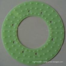 Joint économiseur d'eau de douche de têtes de douche d'eau de silicone