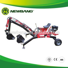 Mini retroexcavadora para ATV