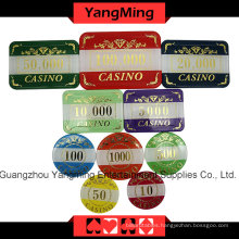 High-Grade Crow Poker Chip Set (760PCS) Ym-Lctj004