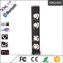 BBQ KBQ-802 6000mAh battery Newest professional Power bank Bluetooth audio Tower Speaker