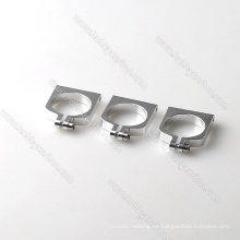 Abrazadera / clip de tubo de aluminio de 16 mm