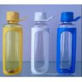 600 ml de garrafa de água BPA Free Free, garrafa de água desportiva, copo de plástico