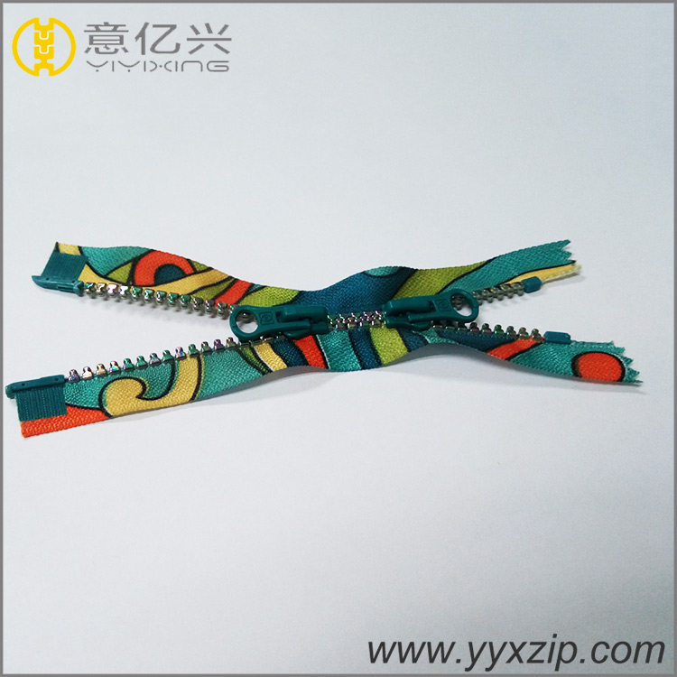 Plastic Zipper with Closed End