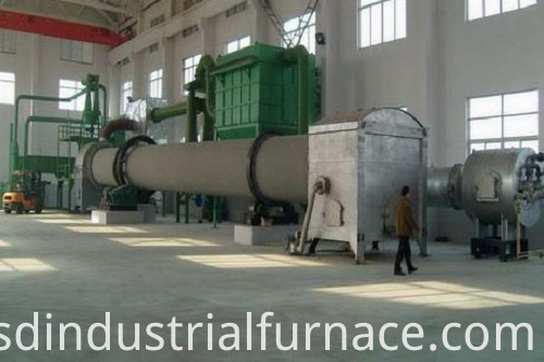 Drum-Type Roaster Furnace