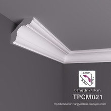 High Stability PU Decorative Cornice Moulding For Home Decor